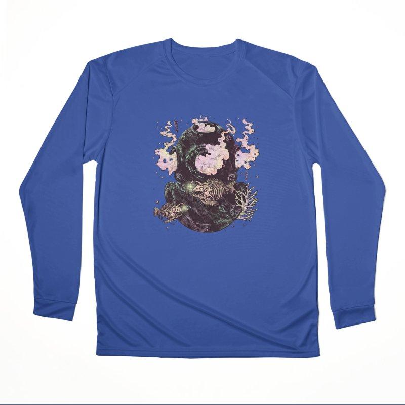 Dive or Die Women's Performance Unisex Longsleeve T-Shirt by barmalisiRTB