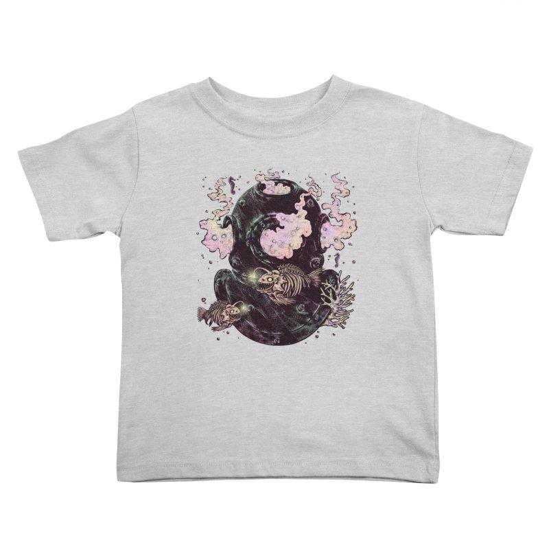 Dive or Die Kids Toddler T-Shirt by barmalisiRTB