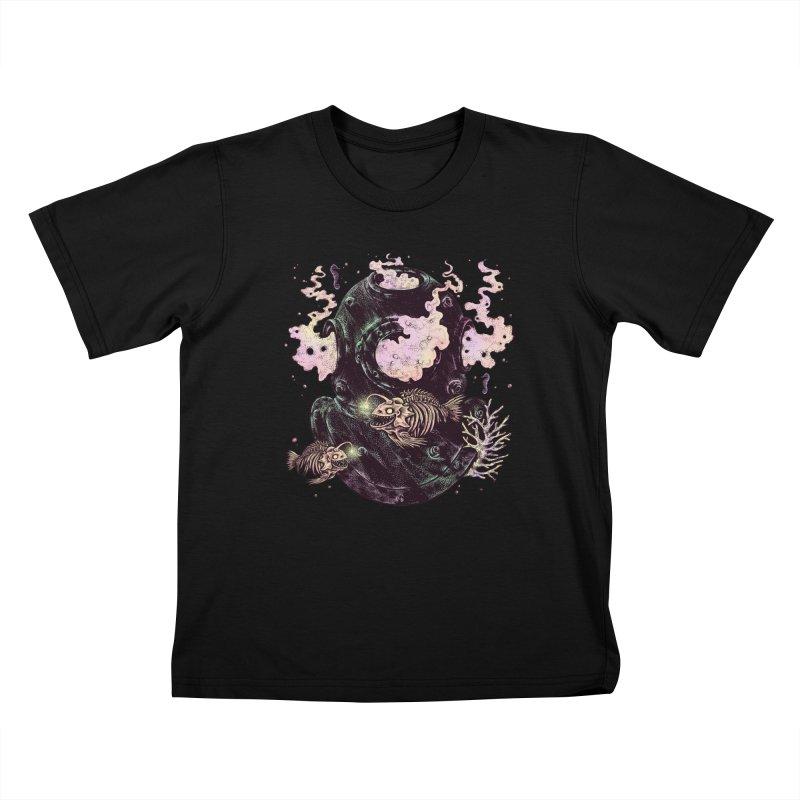 Dive or Die Kids T-Shirt by barmalisiRTB