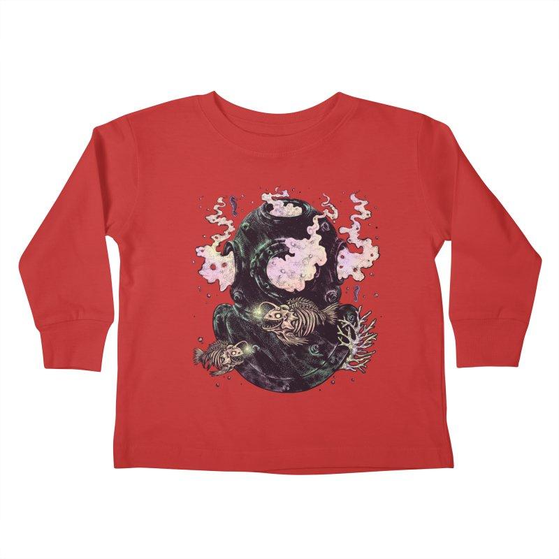 Dive or Die Kids Toddler Longsleeve T-Shirt by barmalisiRTB