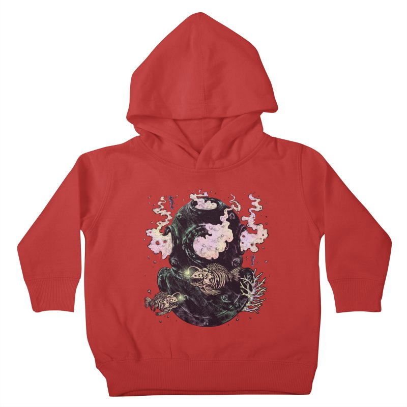 Dive or Die Kids Toddler Pullover Hoody by barmalisiRTB