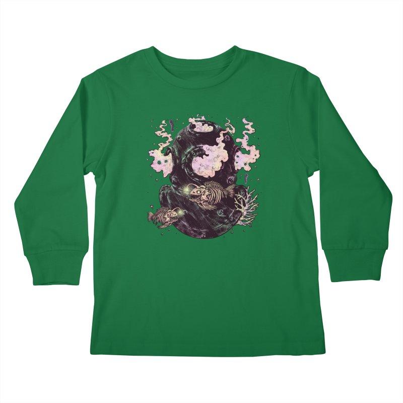 Dive or Die Kids Longsleeve T-Shirt by barmalisiRTB