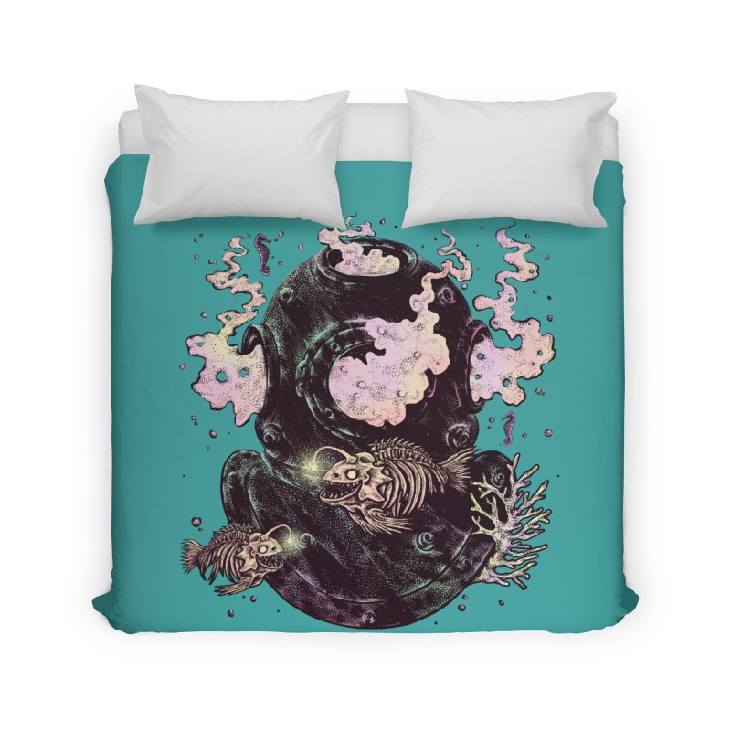 Dive or Die Home Duvet by barmalisiRTB