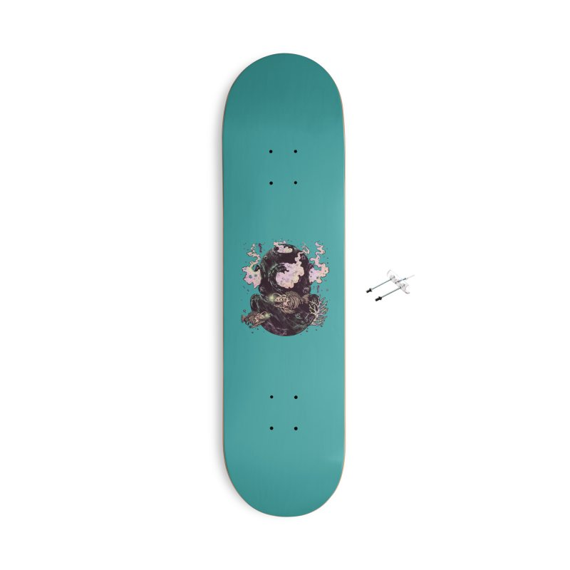 Dive or Die Accessories With Hanging Hardware Skateboard by barmalisiRTB