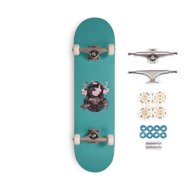 Dive or Die Accessories Complete - Premium Skateboard by barmalisiRTB