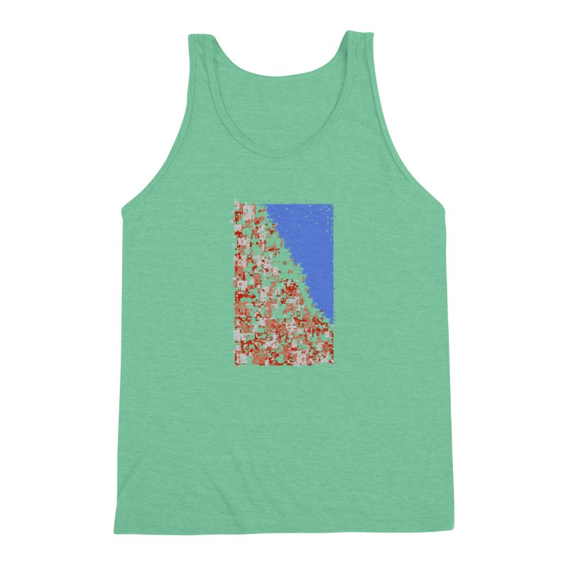 Population Densely Men's Triblend Tank by barmalisiRTB