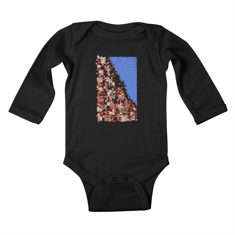 Population Densely Kids Baby Longsleeve Bodysuit by barmalisiRTB