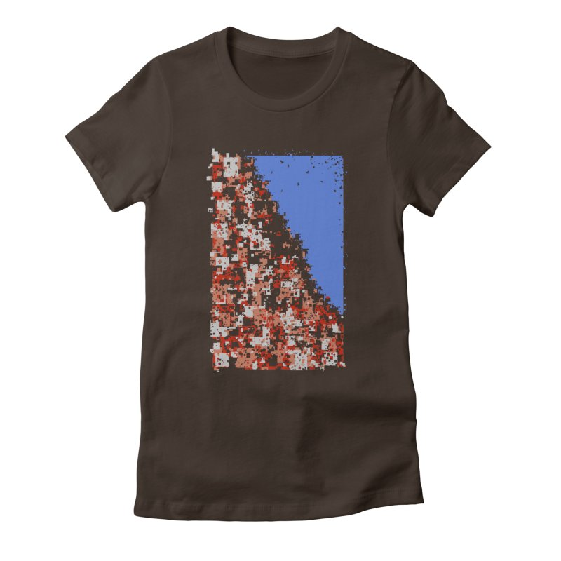 Population Densely Women's Fitted T-Shirt by barmalisiRTB