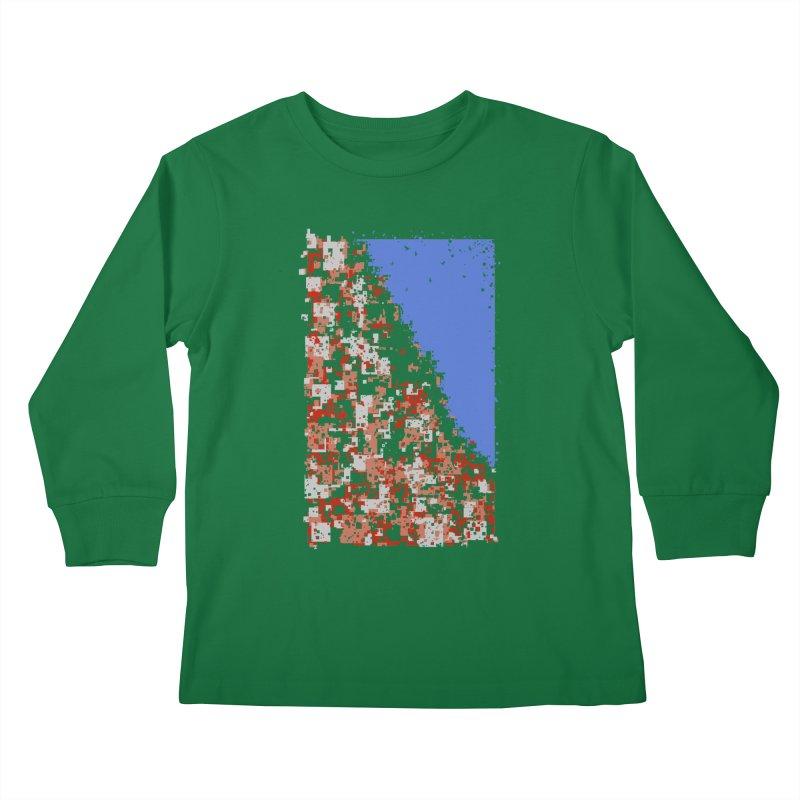 Population Densely Kids Longsleeve T-Shirt by barmalisiRTB