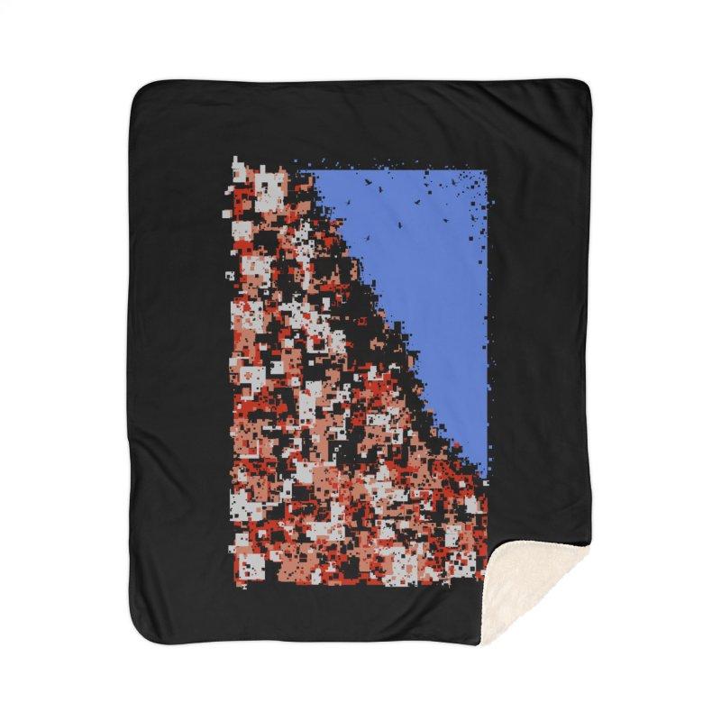 Population Densely Home Sherpa Blanket Blanket by barmalisiRTB