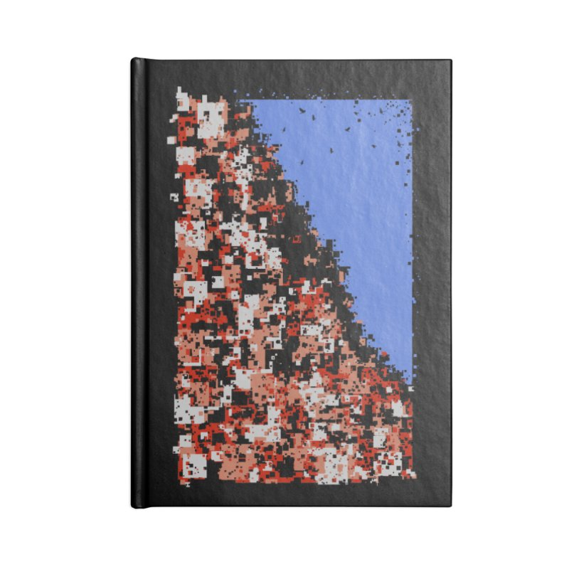 Population Densely Accessories Lined Journal Notebook by barmalisiRTB