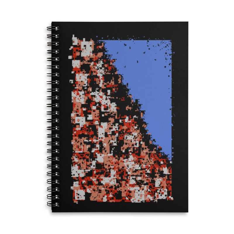 Population Densely Accessories Lined Spiral Notebook by barmalisiRTB