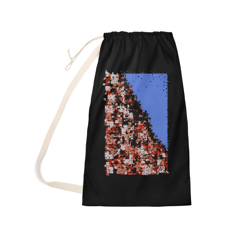Population Densely Accessories Laundry Bag Bag by barmalisiRTB