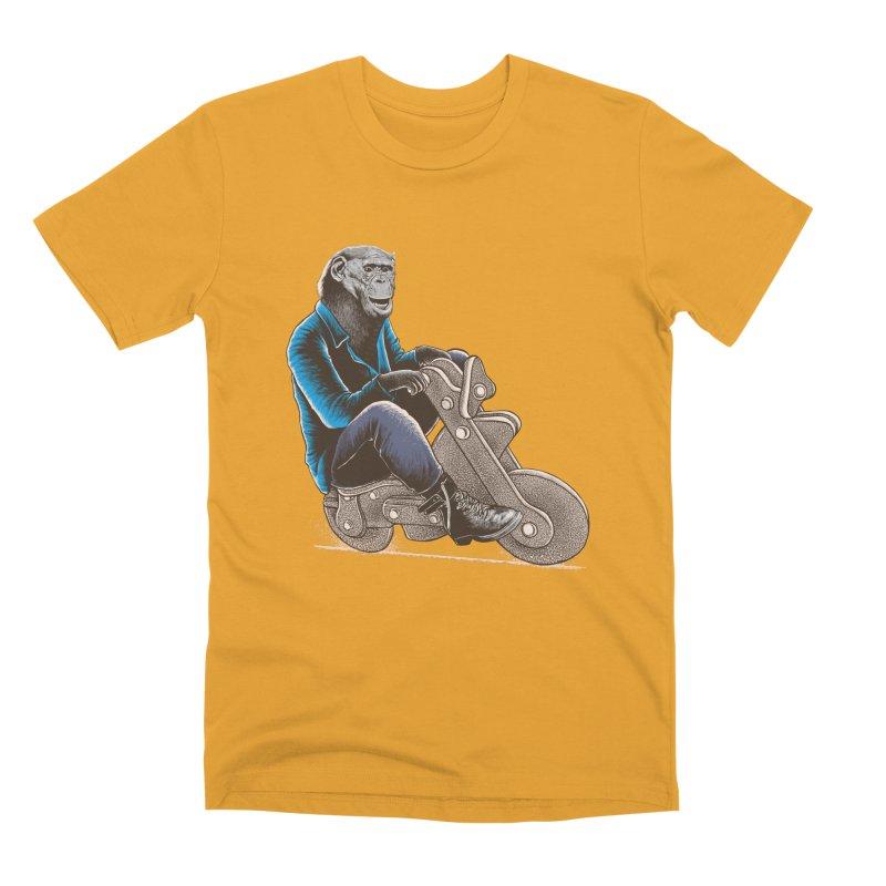 Happy Chimp Men's Premium T-Shirt by barmalisiRTB