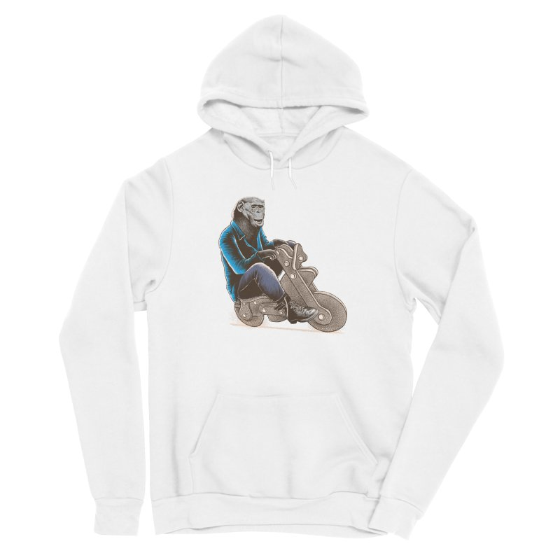 Happy Chimp Men's Sponge Fleece Pullover Hoody by barmalisiRTB