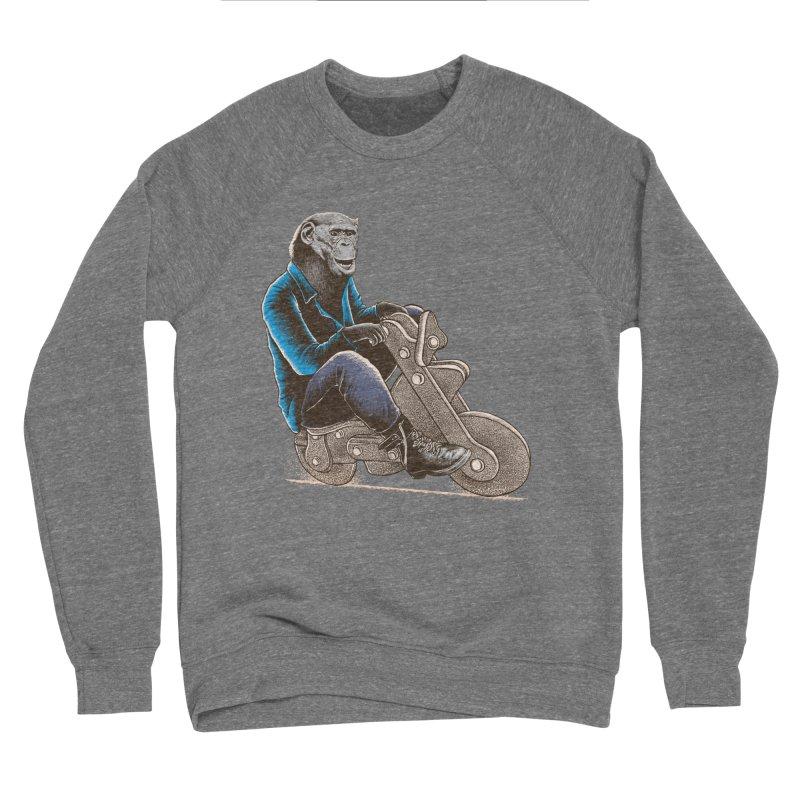 Happy Chimp Men's Sponge Fleece Sweatshirt by barmalisiRTB