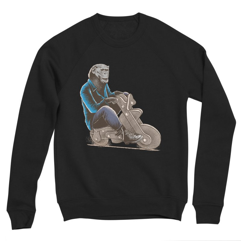 Happy Chimp Women's Sponge Fleece Sweatshirt by barmalisiRTB
