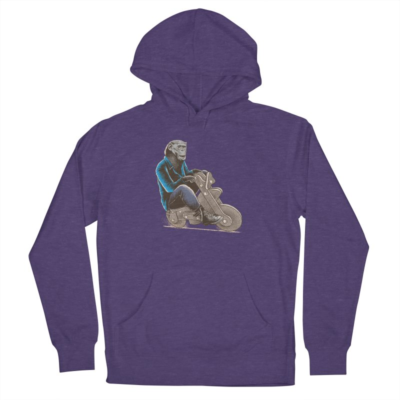 Happy Chimp Men's French Terry Pullover Hoody by barmalisiRTB