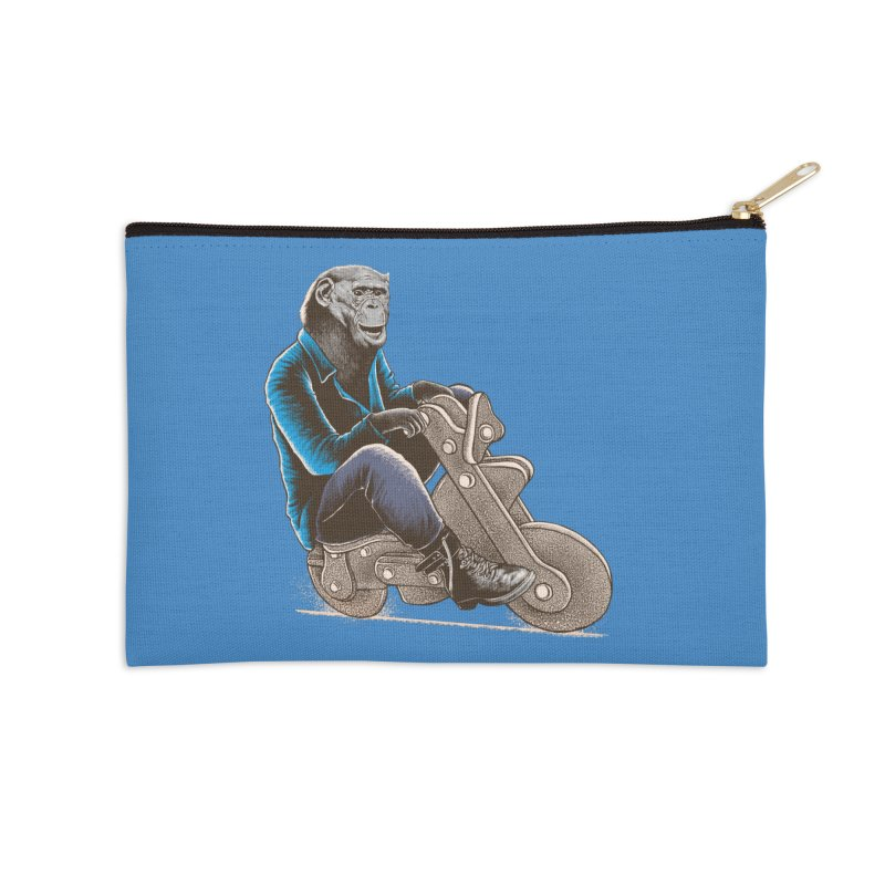 Happy Chimp Accessories Zip Pouch by barmalisiRTB