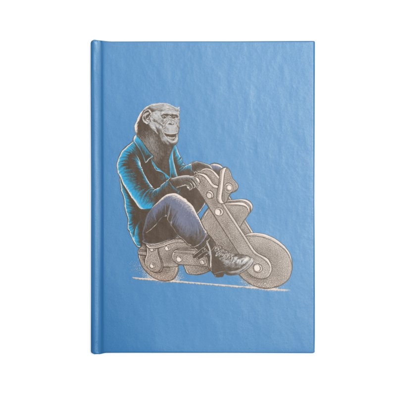Happy Chimp Accessories Blank Journal Notebook by barmalisiRTB