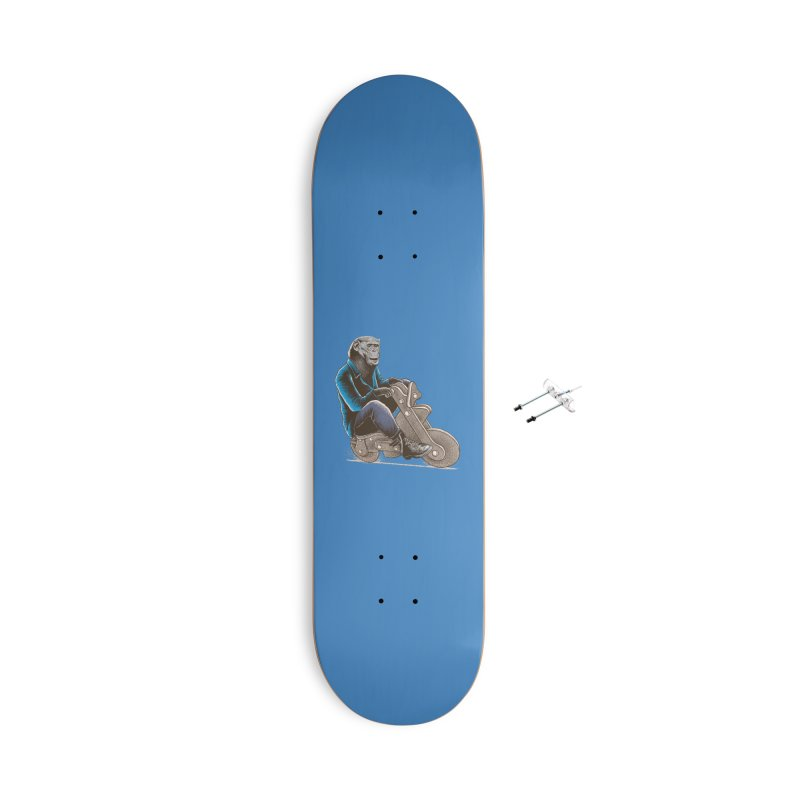 Happy Chimp Accessories With Hanging Hardware Skateboard by barmalisiRTB