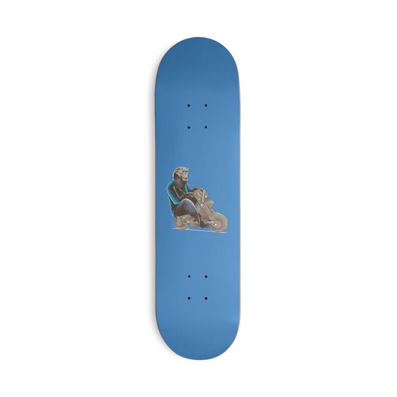 Happy Chimp Accessories Deck Only Skateboard by barmalisiRTB