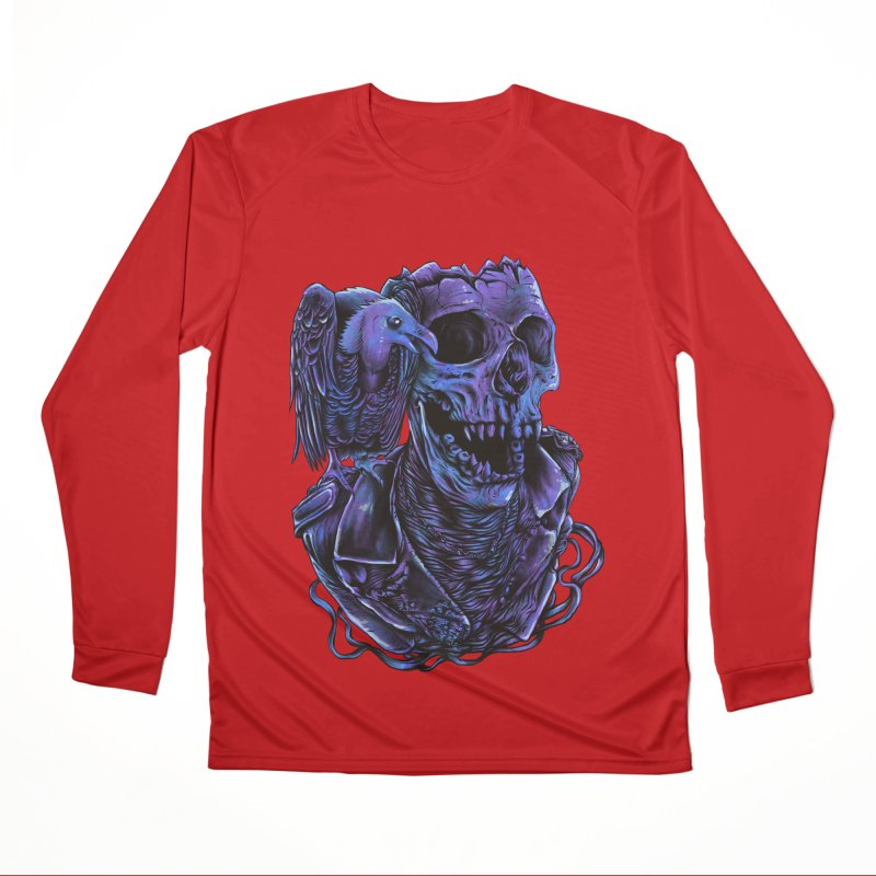 Revived skull Men's Performance Longsleeve T-Shirt by barmalisiRTB
