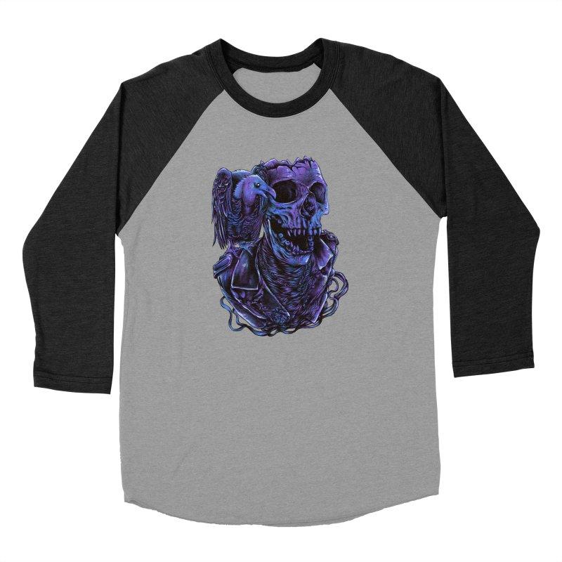 Revived skull Men's Baseball Triblend Longsleeve T-Shirt by barmalisiRTB