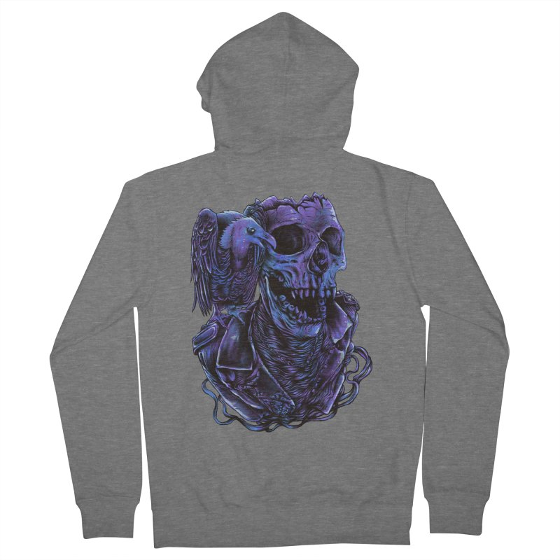 Revived skull Women's French Terry Zip-Up Hoody by barmalisiRTB