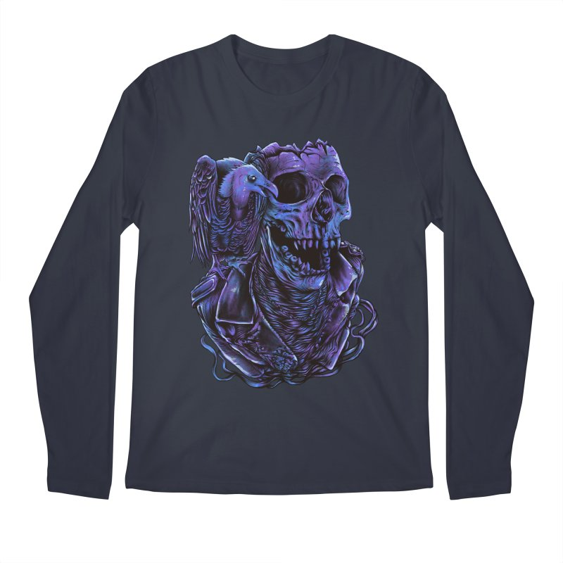 Revived skull Men's Regular Longsleeve T-Shirt by barmalisiRTB