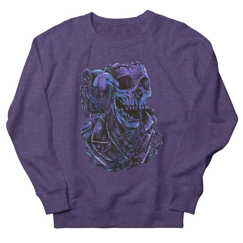 Revived skull Men's French Terry Sweatshirt by barmalisiRTB