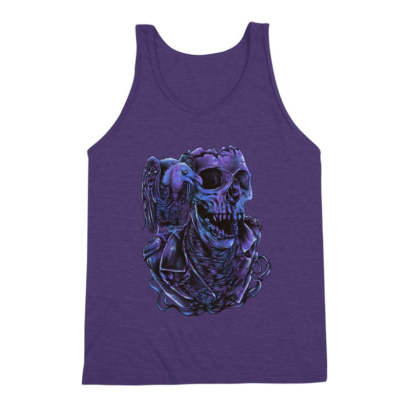 Revived skull Men's Triblend Tank by barmalisiRTB