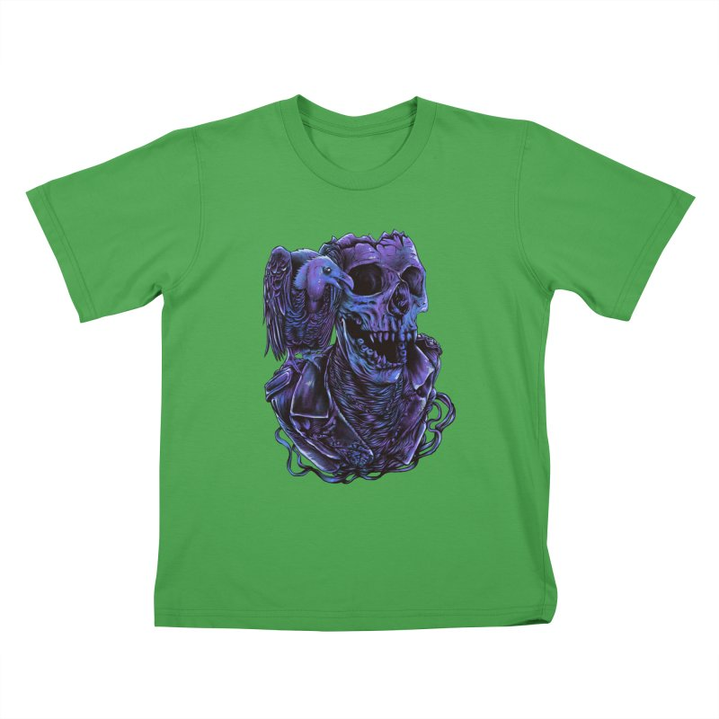 Revived skull Kids T-Shirt by barmalisiRTB