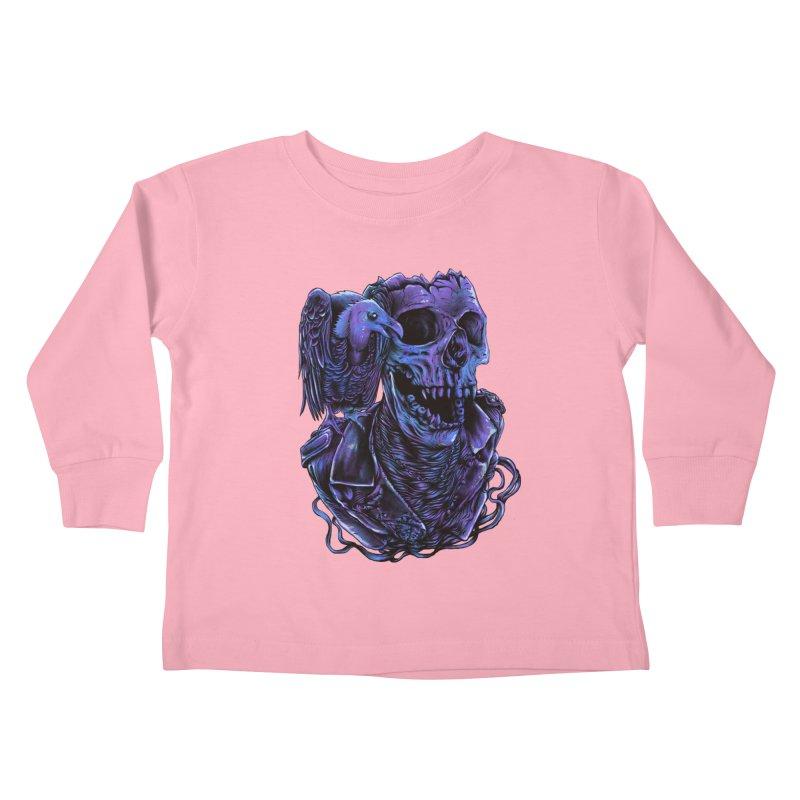 Revived skull Kids Toddler Longsleeve T-Shirt by barmalisiRTB