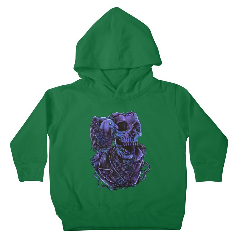 Revived skull Kids Toddler Pullover Hoody by barmalisiRTB