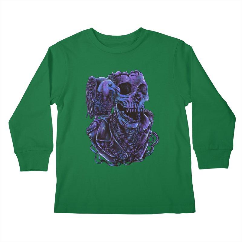 Revived skull Kids Longsleeve T-Shirt by barmalisiRTB
