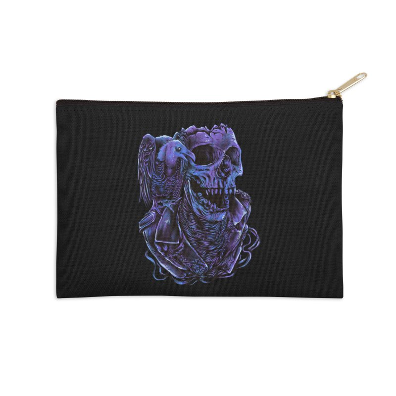 Revived skull Accessories Zip Pouch by barmalisiRTB