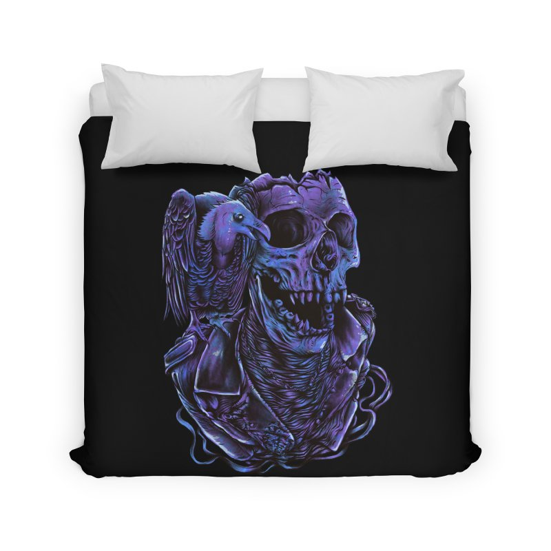 Revived skull Home Duvet by barmalisiRTB