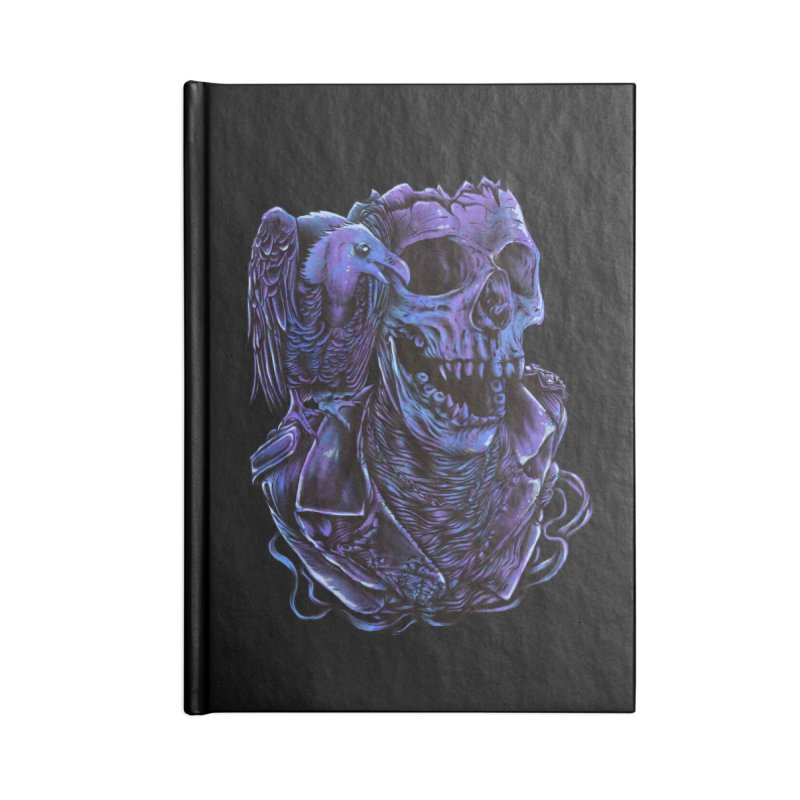 Revived skull Accessories Lined Journal Notebook by barmalisiRTB