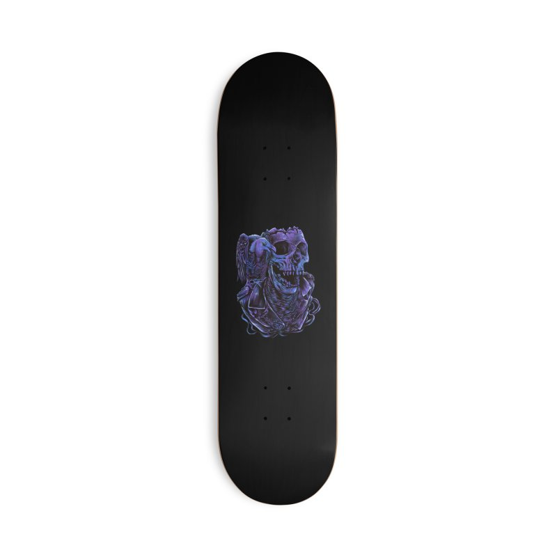 Revived skull Accessories Deck Only Skateboard by barmalisiRTB
