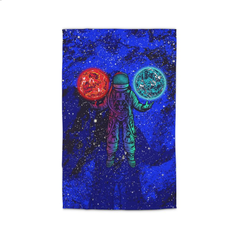king of planets Home Rug by barmalisiRTB