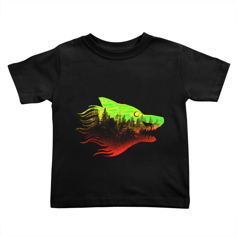 The Wolf Kids Toddler T-Shirt by barmalisiRTB