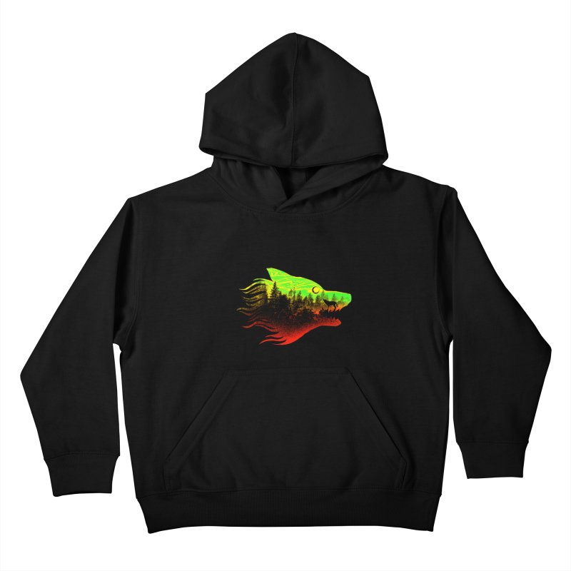 The Wolf Kids Pullover Hoody by barmalisiRTB