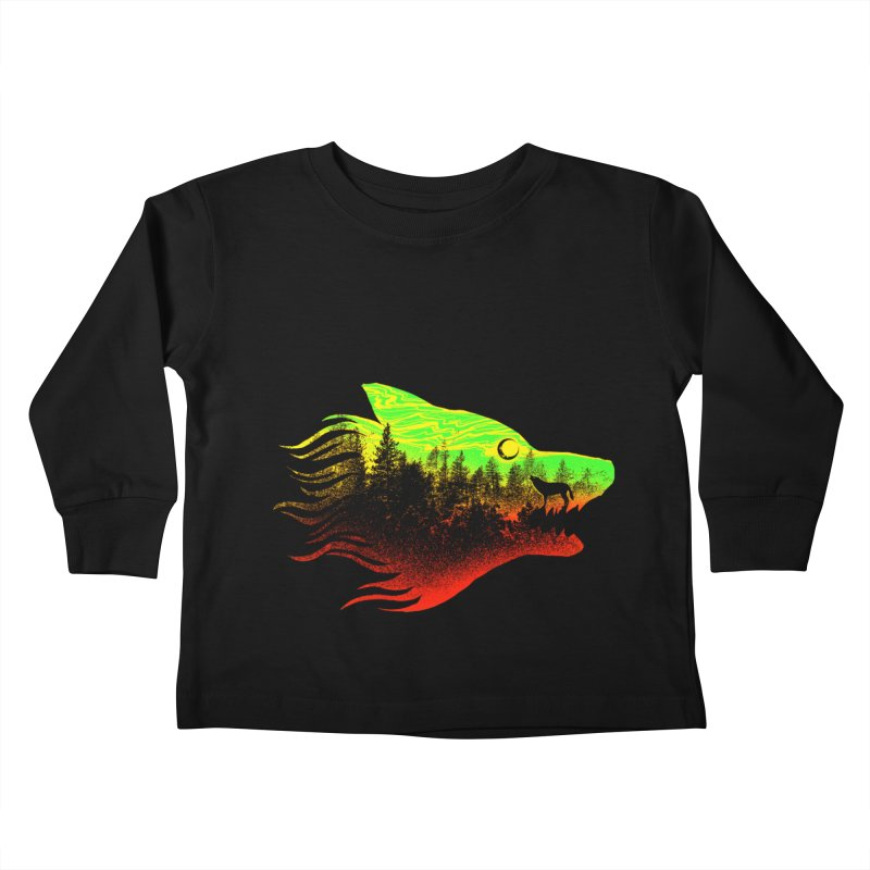 The Wolf Kids Toddler Longsleeve T-Shirt by barmalisiRTB