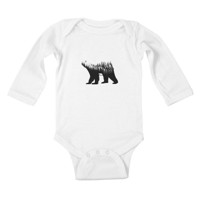 The Bear Kids Baby Longsleeve Bodysuit by barmalisiRTB