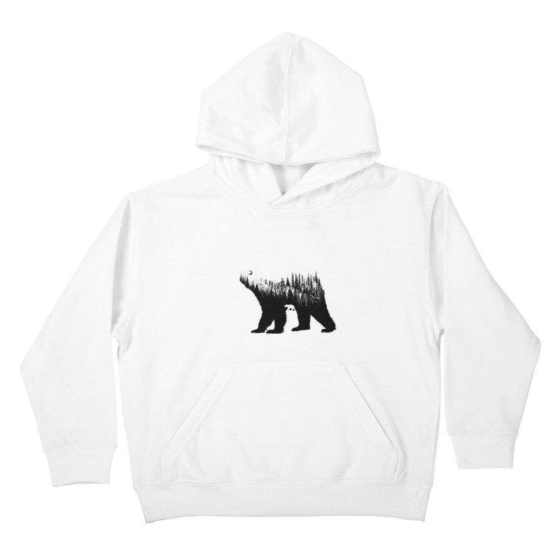 The Bear Kids Pullover Hoody by barmalisiRTB