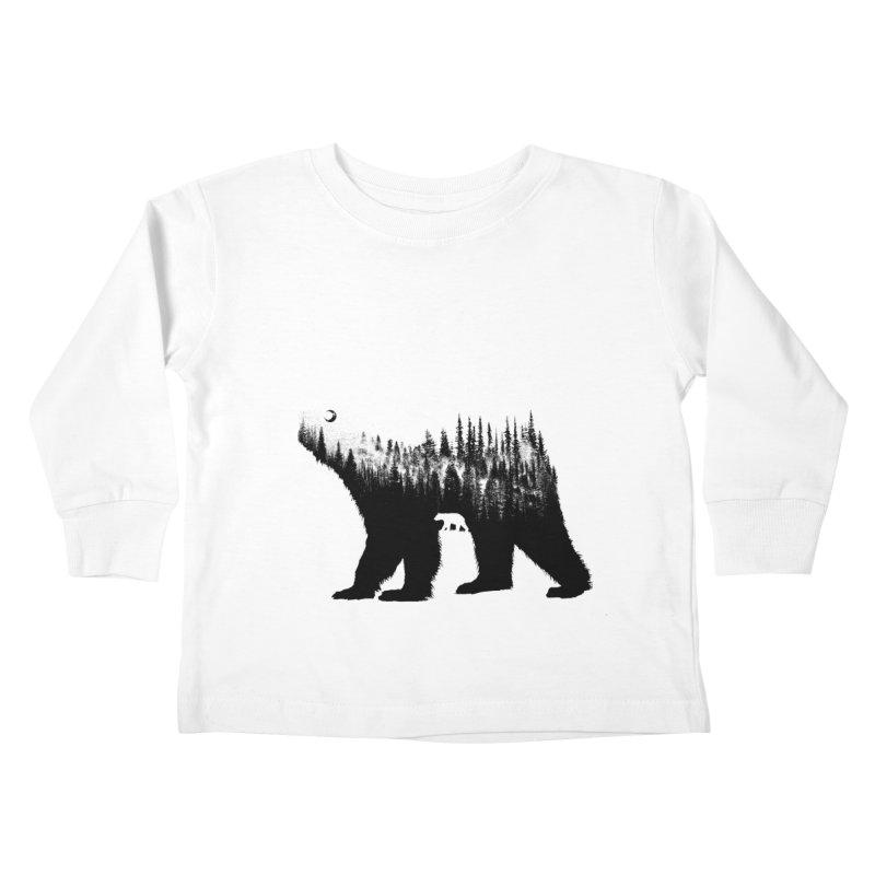 The Bear Kids Toddler Longsleeve T-Shirt by barmalisiRTB