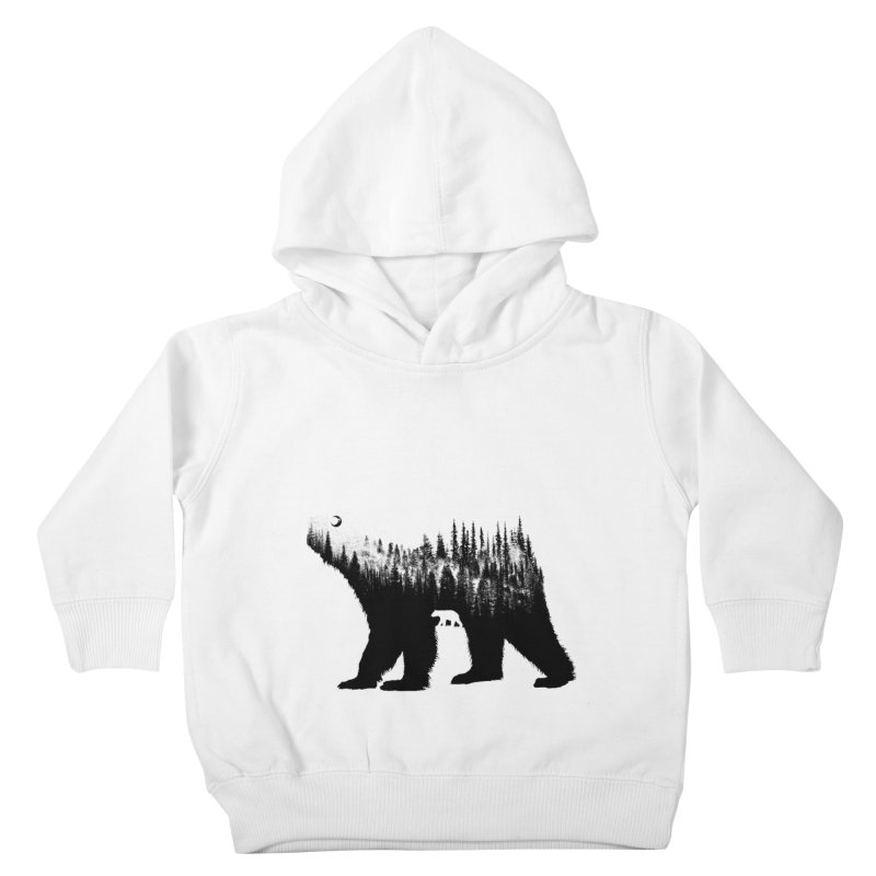 The Bear Kids Toddler Pullover Hoody by barmalisiRTB