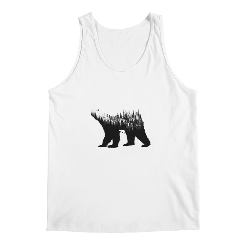 The Bear Men's Tank by barmalisiRTB