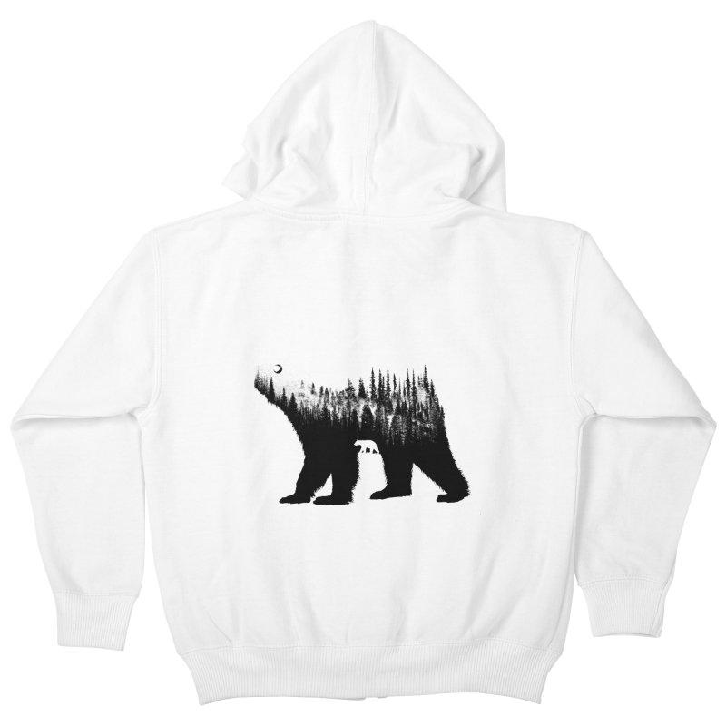 The Bear Kids Zip-Up Hoody by barmalisiRTB